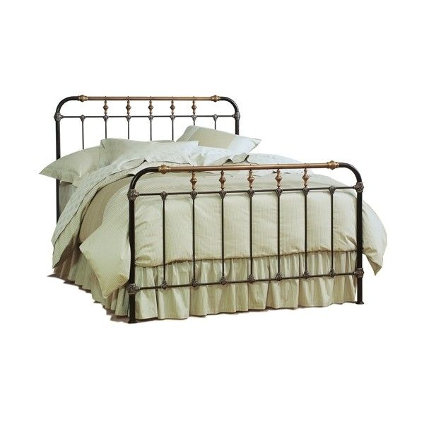 Boston Bed, Iron Beds : Charles P. Rogers Beds Direct, Makers of fine... ($1,499) ❤ liked on Polyvore
