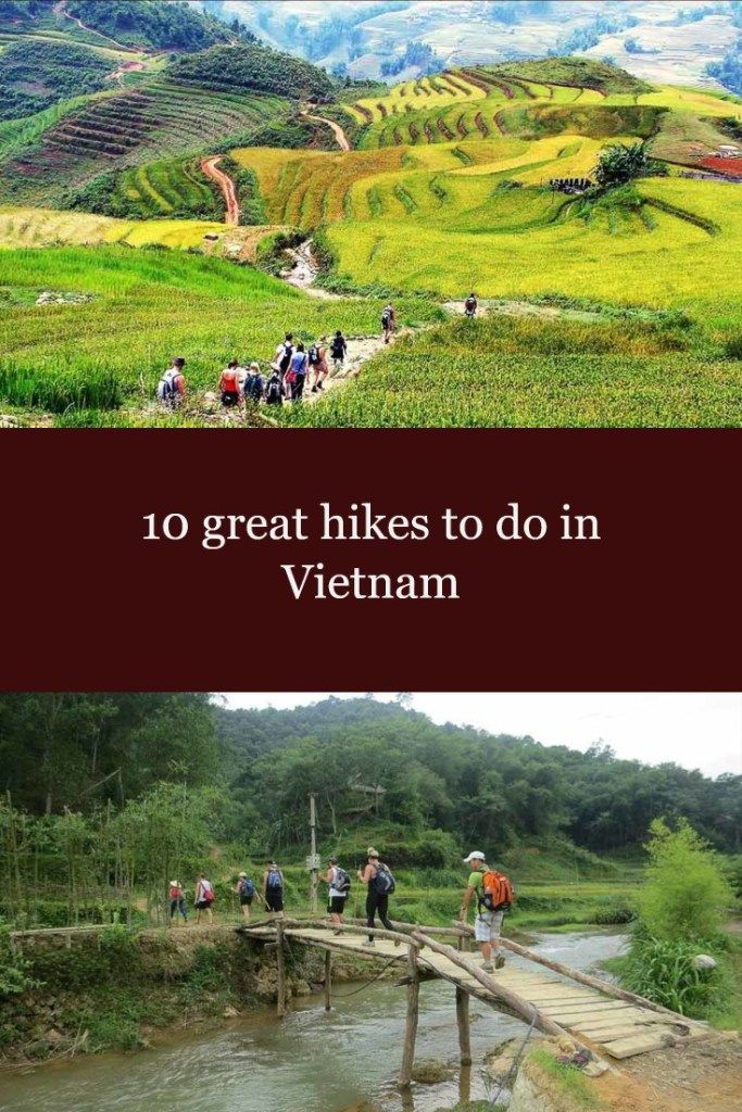 10 great hikes in Vietnam
