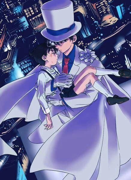 --Kaito Kid and Conan--