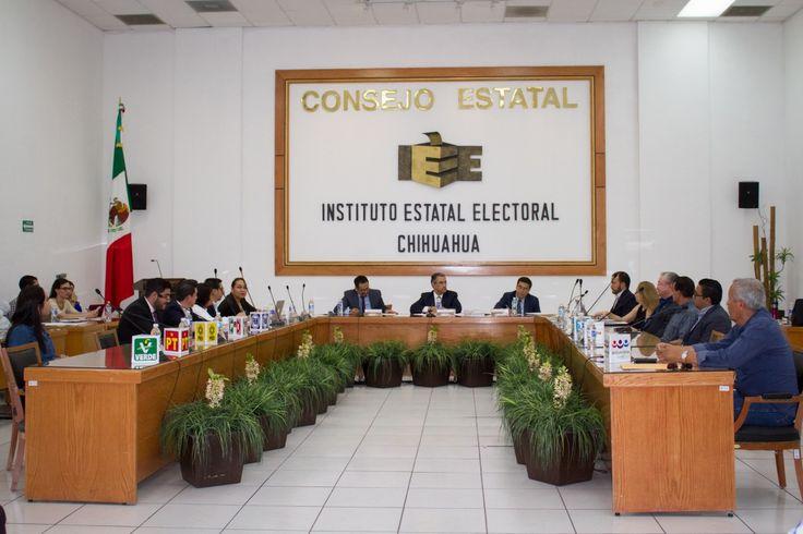 <p>Chihuahua, Chih.- En la 5ta Sesión Extraordinaria de este 2017, el Consejo Estatal del Instituto Estatal Electoral (IEE) nombró de manera