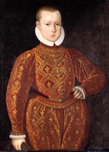 Christian 4 at age 7