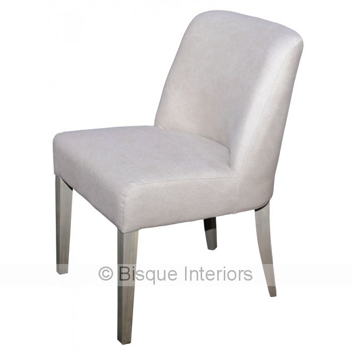 LOW BACK DINING CHAIR TAUPE | chairs