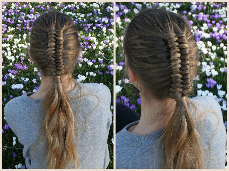 Dutch Infinity Braid Tutorial by HairAndNailsInspiration