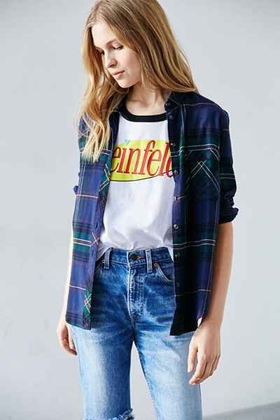 Seinfeld Ringer Tee - Urban Outfitters