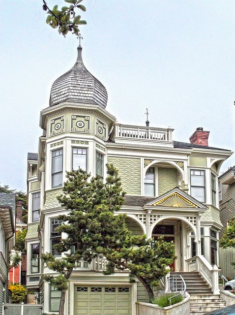 exterior design victorian house san francisco awesome pinterest home colors and victorian. Black Bedroom Furniture Sets. Home Design Ideas