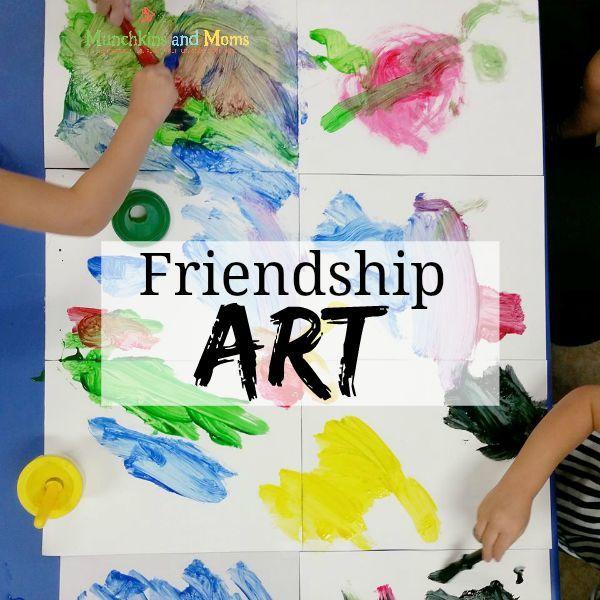Preschool Friendship Activities And Crafts