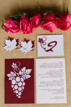wine inspired stationery // photo: marian bader