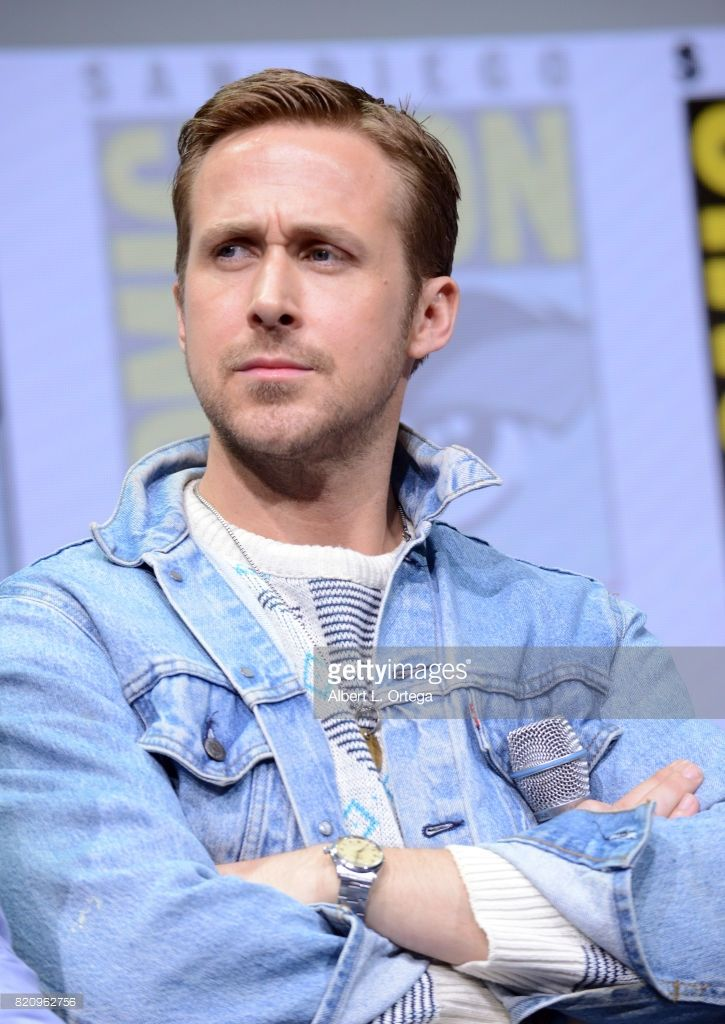 Actor Ryan Gosling attends the Warner Bros. Pictures 'Blade Runner 2049' Presentation during Comic-Con International 2017 at San Diego Convention Center on July 22, 2017 in San Diego, California.