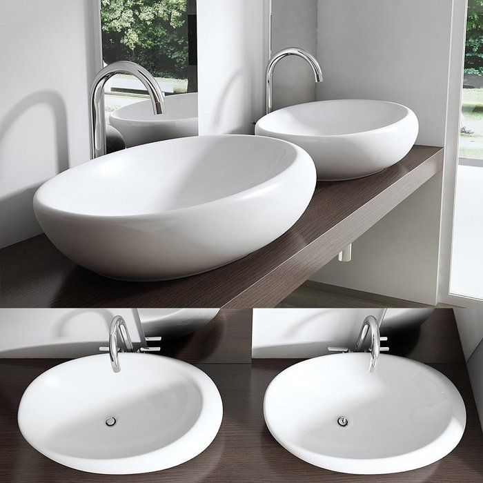11 best Keramik (Waschbecken) images on Pinterest Bathrooms - küche waschbecken keramik