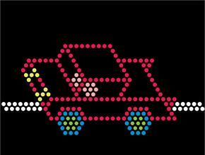 lite brite refill template, a sample one free. This will give you the overall template design and then you can create your own. Haven't found a site with multiple free ones yet.