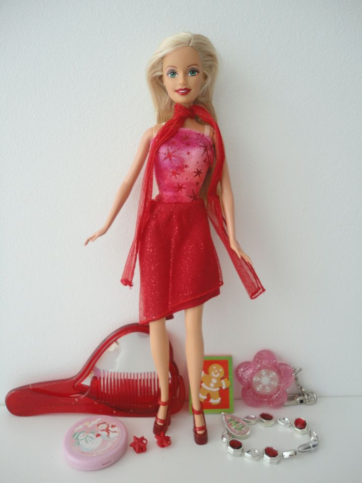 Barbie Holiday Stocking Blond BD2004 G6471 in 2020