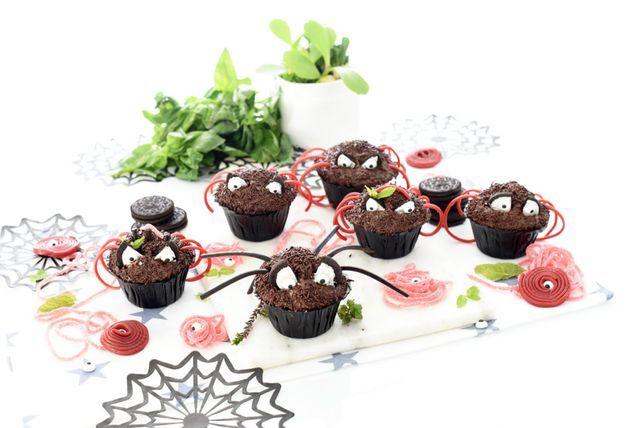 Magdalenas araña para Halloween | Velocidad Cuchara  | Bloglovin'