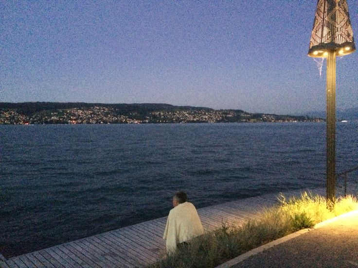 Dusk on Lake Zurich
