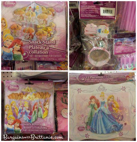 Disney Princess & Spider-Man Birthday Party Supplies Found at Dollar Tree!