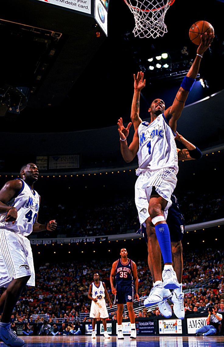 McGrady Finishes With The Left, '03.