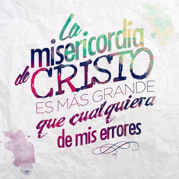 La Misericordia de Cristo