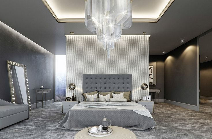 """Gray room is very functional – it is able to visually expand the boundaries of space and significantly increase the space. This option is ideal for small spaces that need to be somehow """"stretch"""".Have you ever thought about how many shades of gray there? #interiorsdesign #decor"""