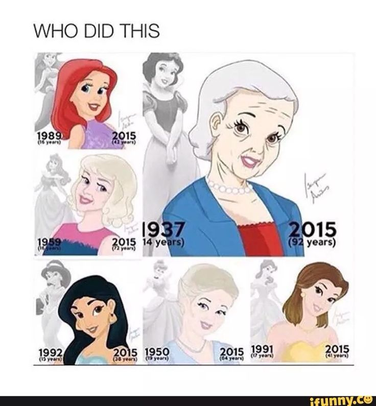 snow white then and now Now, we know what snow white looks like as someone's grandmother check out the different disney princesses below snow white cinderella princess aurora ariel belle jasmine pocahontas mulan.