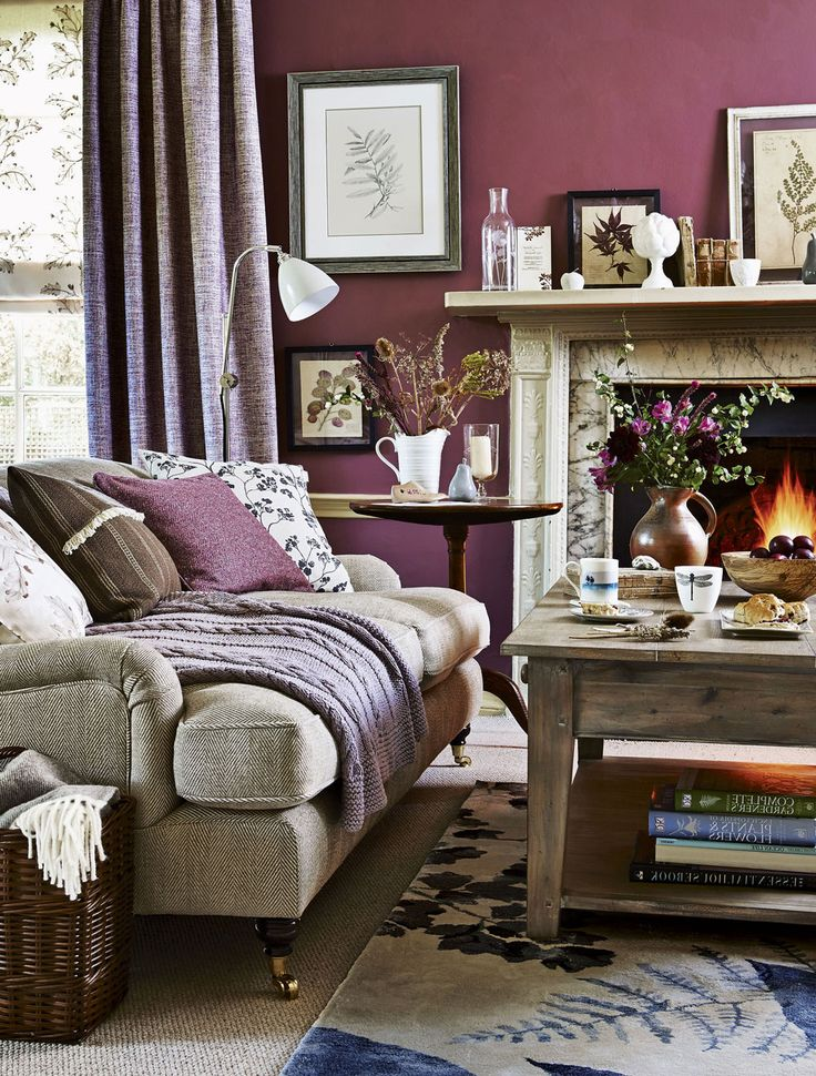 Awesome The 25+ Best Plum Living Rooms Ideas On Pinterest | Purple Living Rooms,  Purple Accent Walls And Aubergine Bedroom Part 20