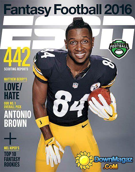 ESPN Fantasy Football Magazine 2016 | ESPN - Fantasy Football Guide 2016 »…
