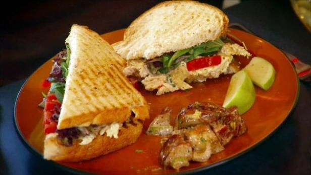 The secret to Polish Village Cafe's chicken salad? Peach chutney and curry.