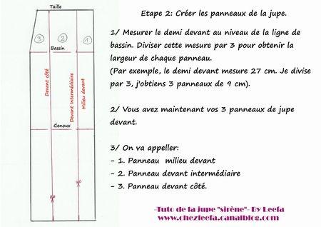 """DIY- La jupe """"sirène"""" - Chez Leefa"""