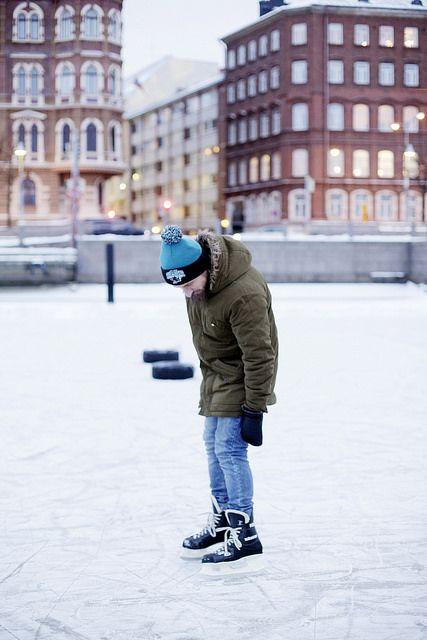 Norra kajen vintertid