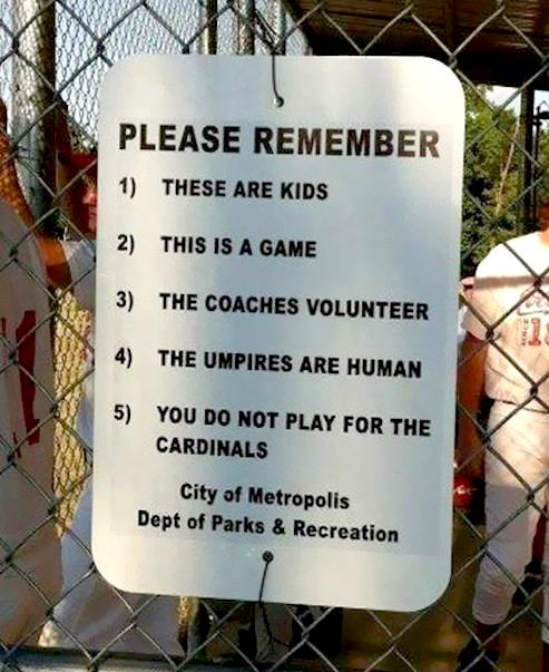 80 best youth sports images on pinterest teenagers young adults parents really need to be reminded of this at youth sport games fandeluxe Images