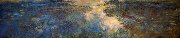 Monet Claude - Estanque de nenúfares (tríptico)