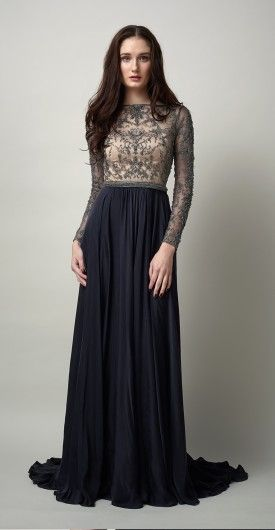 #CatherineDeane | Prefall 15 | Brettany gown | #embellishment