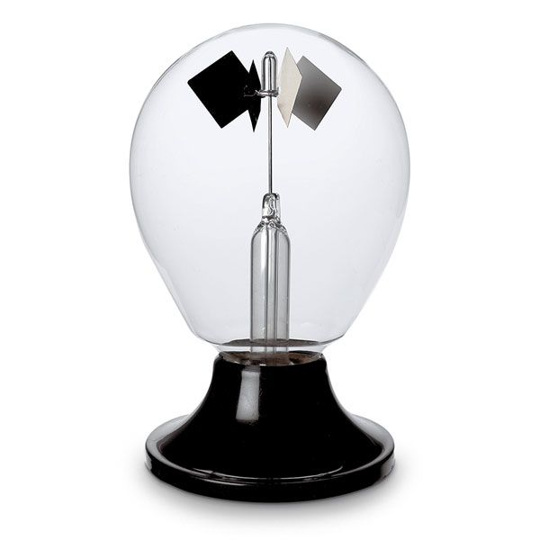 Radiometer used in experiment
