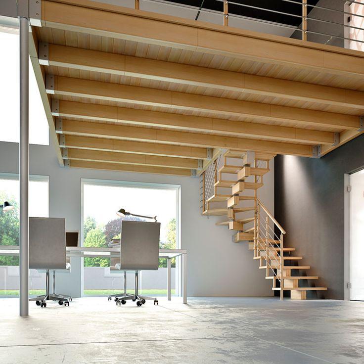 Estructura de madera de altillo, soporta más de 200 kg m2.
