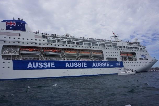 Pacific Pearl : Aussie Aussie Aussie... #AustraliaDayOnboard 2015 bring it on!!!