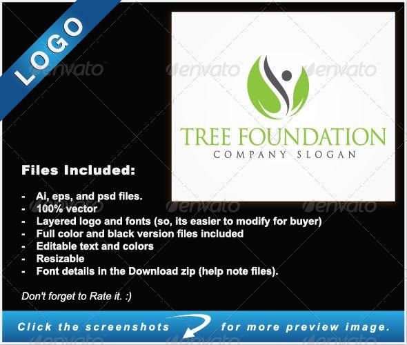 Tree Foundation - Nature Logo Templates