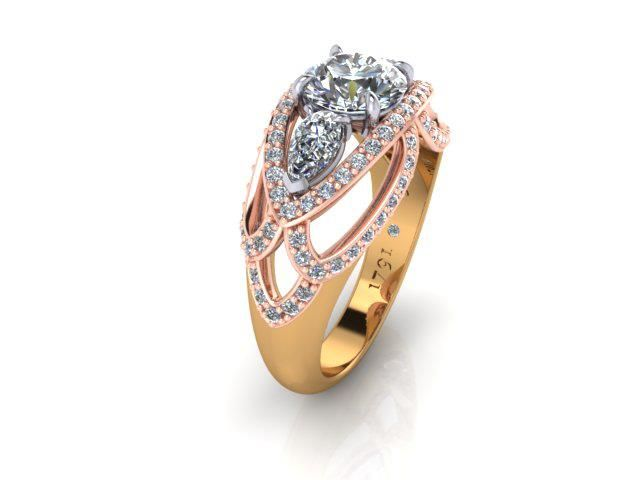 A ring from Alice Herald's Amara Collection