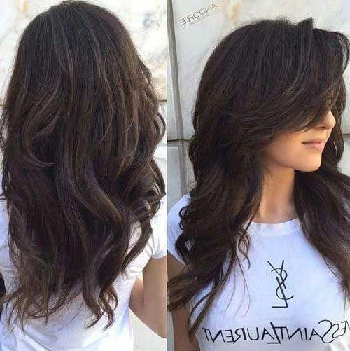 35 Stunning Long Hairstyles for 2019, Present-day long haircuts look emotionless and somewhat untidy. These are performed on the base of long shag hai...