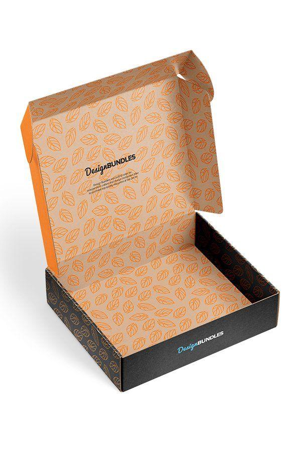 Download Two Mailing Box Mockups Box Mockup Design Bundles Template Design