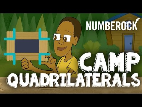 Quadrilaterals Song For Kids ⋆ Geometry Video by NUMBEROCK - YouTube