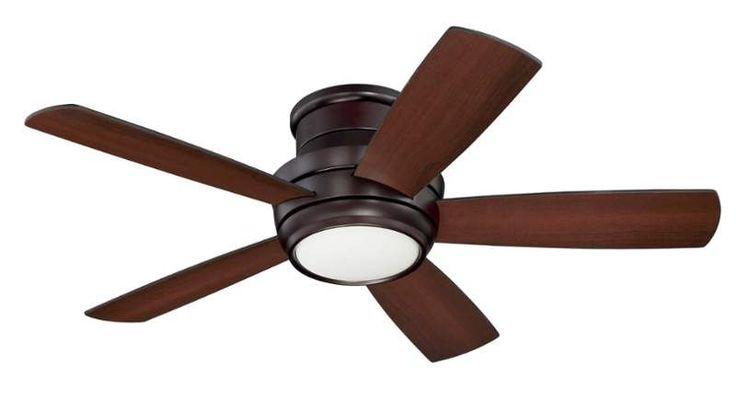 """Craftmade TMPH445 Tempo Hugger 44"""" 5 Blade AC Motor Indoor Ceiling Fans with Lig"""