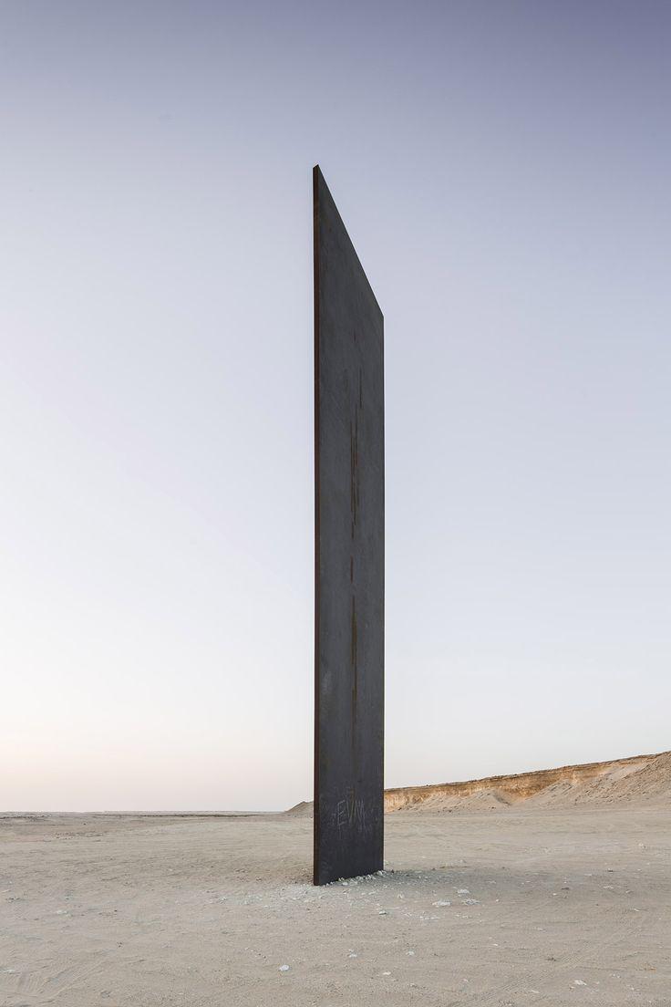 Galería - La nueva escultura de Richard Serra, en el desierto de Qatar - 3