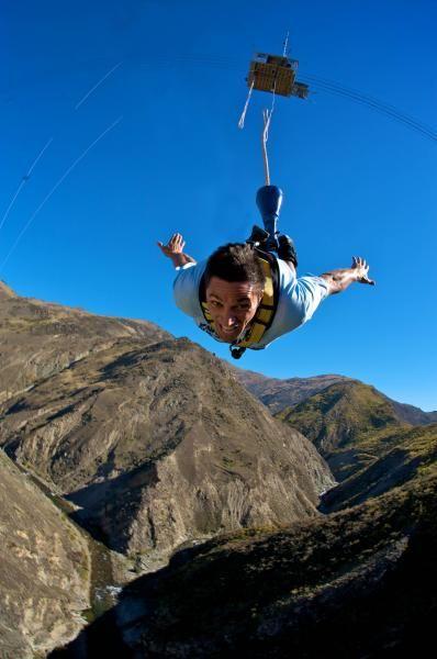 Nevis Bungy - NZ's Highest Bungy Jump - AJ Hackett Bungy