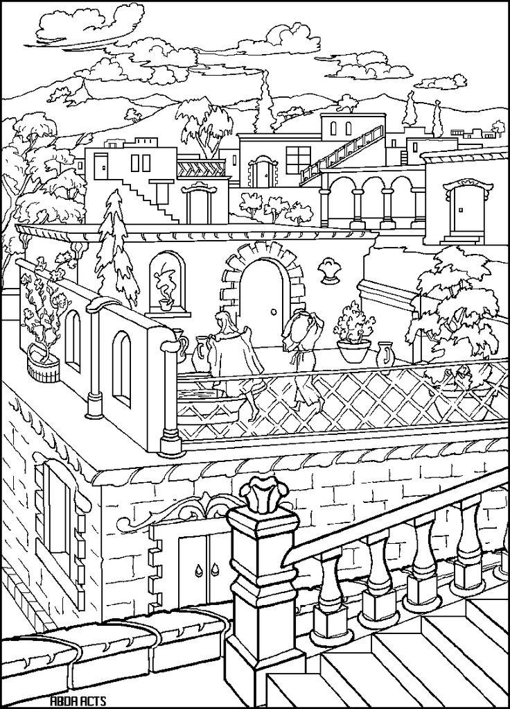 Acts 3 Coloring Sheet Coloring Pages And Search On