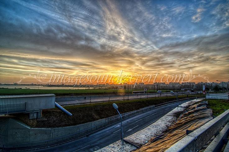 hdr landscape sunrise, sonnenaufgang, lever du soleil, rasarit,