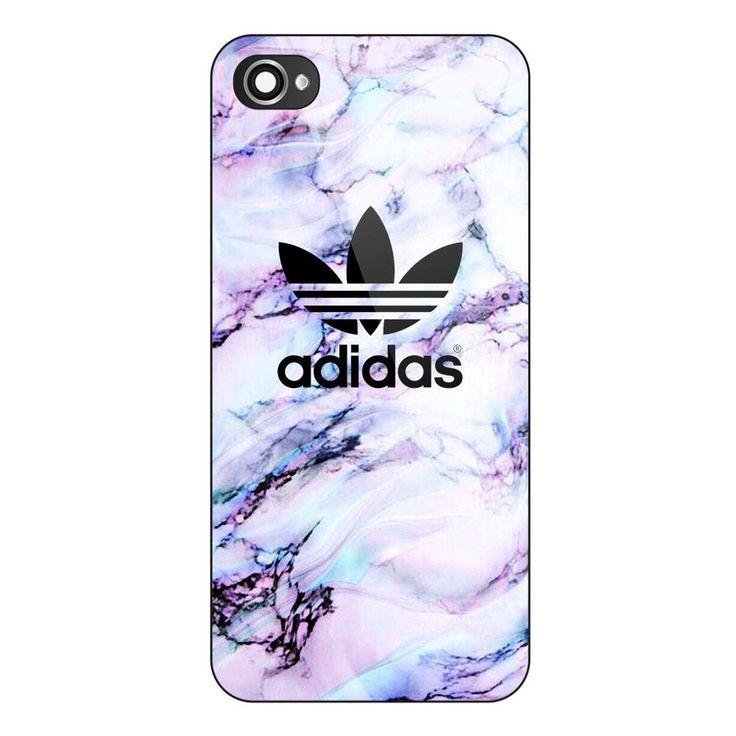 New Adidas Purple White Marble Custom Print Case on iPhone 6 6plus 7 7plus #UnbrandedGeneric