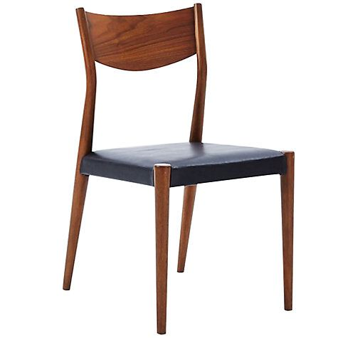 Buy west elm Tate Leather Dining Chair Online at johnlewis.com