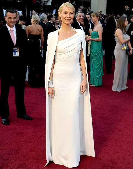 Gwenyth at the Oscars, was this the inspiration for the dress of queen maxima? Or..... The other way around?  Love it