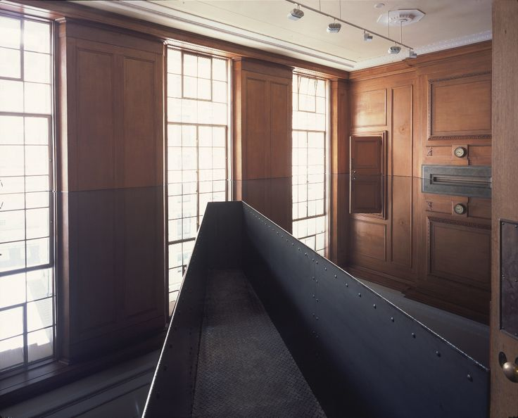 A personal favourite of mine by Richard Wilson, which was installed at Saatchi a few years ago