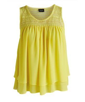Carraig Donn | Vila Valerie Aurora Top - A gorgeous summer top that will brighten up your Spring Summer wardrobe.
