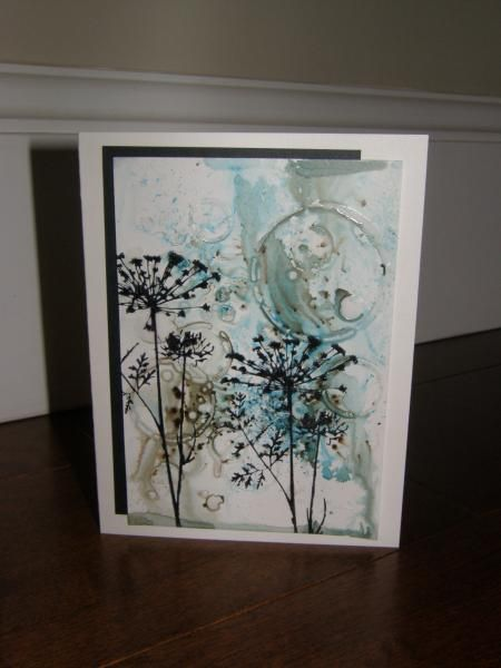 Mixed media and bister