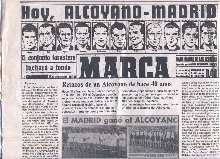 Portada diario Marca sobre el Alcoyano